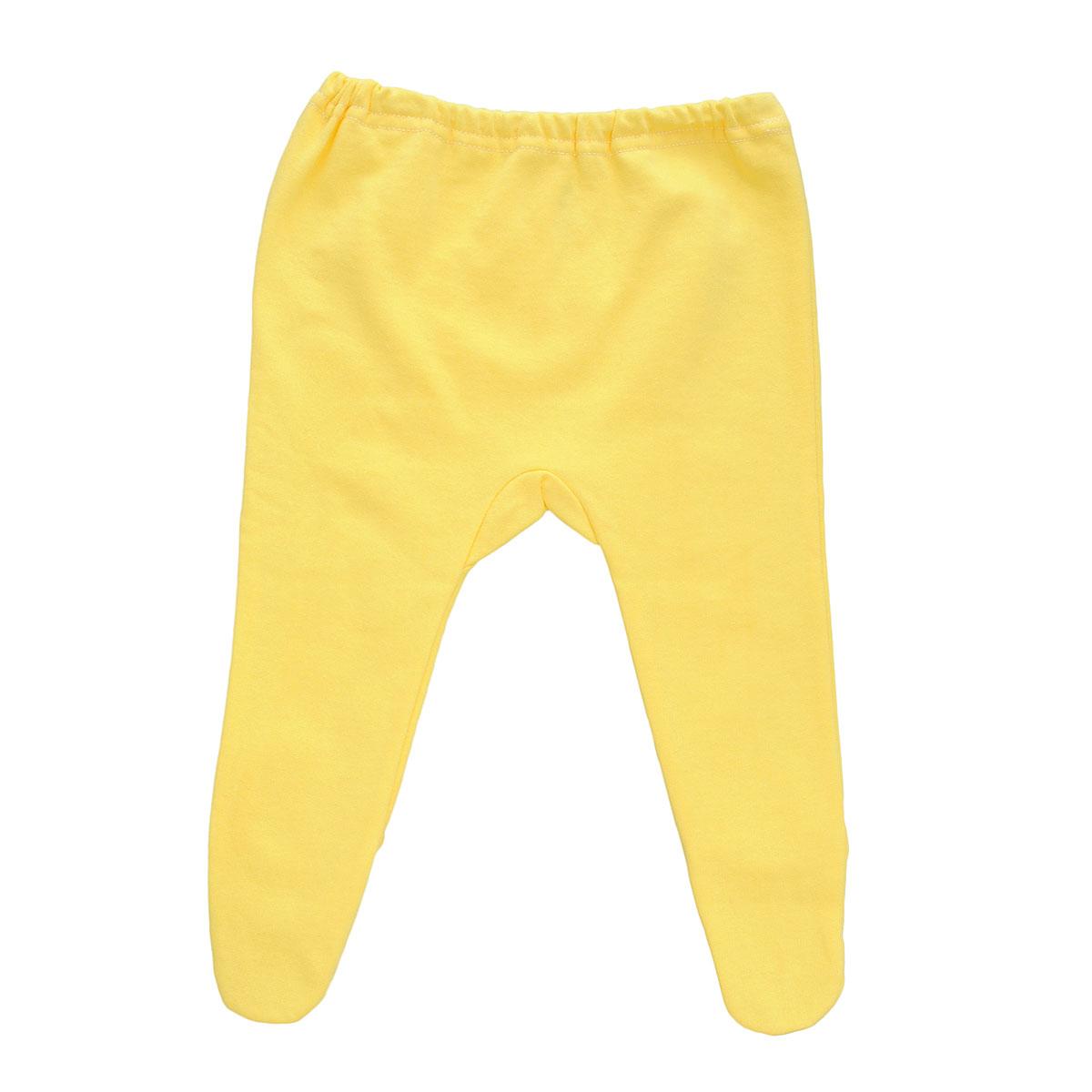 Ползунки Трон-Плюс, цвет: желтый. 5256. Размер 56, 1 месяц5256Ползунки для новорожденного Трон-Плюс послужат идеальным дополнением к гардеробу вашего ребенка, обеспечивая ему наибольший комфорт.Модель, изготовленная из футерованного полотна - натурального хлопка, необычайно мягкая и легкая, не раздражает нежную кожу ребенка и хорошо вентилируется, а эластичные швы приятны телу малыша и не препятствуют его движениям. Теплые ползунки с закрытыми ножками благодаря мягкому эластичному поясу не сдавливают животик младенца и не сползают, идеально подходят для ношения с подгузником. Они полностью соответствуют особенностям жизни ребенка в ранний период, не стесняя и не ограничивая его в движениях.