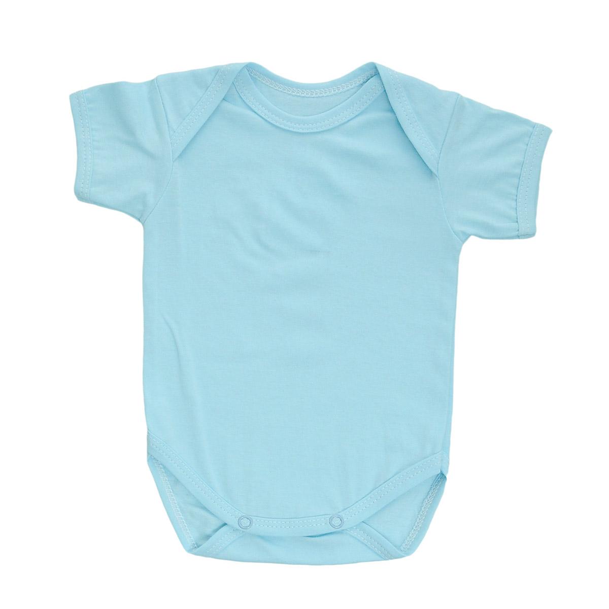 Боди детское Трон-Плюс, цвет: голубой. 5863. Размер 62, 3 месяца5863Детское боди Трон-плюс с короткими рукавами послужит идеальным дополнением к гардеробу вашего ребенка, обеспечивая ему наибольший комфорт. Боди изготовлено из натурального хлопка, благодаря чему оно необычайно мягкое и легкое, не раздражает нежную кожу ребенка и хорошо вентилируется, а эластичные швы приятны телу младенца и не препятствуют его движениям. Удобные запахи на плечах и кнопки на ластовице помогают легко переодеть младенца или сменить подгузник. Боди полностью соответствует особенностям жизни ребенка в ранний период, не стесняя и не ограничивая его в движениях. В нем ваш ребенок всегда будет в центре внимания.