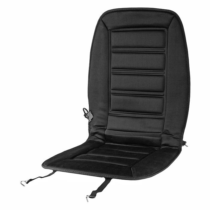 Накидка на сиденье с обогревом Kioki, 95 см х 47 см12V25/КВС-202Накидка на сиденье Kioki имеет встроенный регулятор мощности. Крепится на сиденье при помощи крючков. Питается от автомобильного прикуривателя. Характеристики: Размер накидки: 95 см х 47 см. Напряжение: 12 В. Ток: 5 А. Размер упаковки: 58 см х 50 см х 3 см.