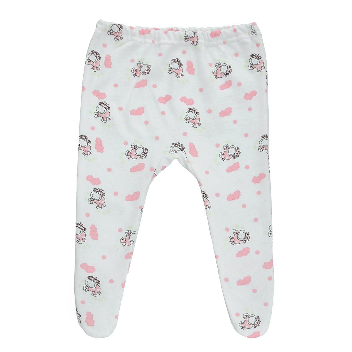 Ползунки Трон-Плюс, цвет: белый. розовый, рисунок коровы. 5256. Размер 62, 3 месяца5256Ползунки для новорожденного Трон-Плюс послужат идеальным дополнением к гардеробу вашего ребенка, обеспечивая ему наибольший комфорт.Модель, изготовленная из футерованного полотна - натурального хлопка, необычайно мягкая и легкая, не раздражает нежную кожу ребенка и хорошо вентилируется, а эластичные швы приятны телу малыша и не препятствуют его движениям. Теплые ползунки с закрытыми ножками благодаря мягкому эластичному поясу не сдавливают животик младенца и не сползают, идеально подходят для ношения с подгузником. Они полностью соответствуют особенностям жизни ребенка в ранний период, не стесняя и не ограничивая его в движениях.