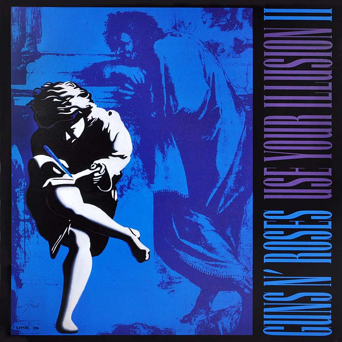 Guns N' Roses Guns N' Roses. Use Your Illusion II (2 LP) футболка стрэйч printio guns n roses