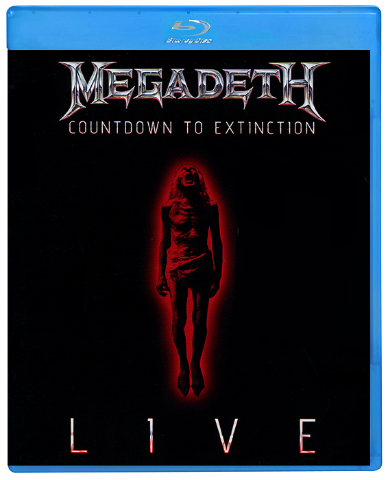 Megadeth: Countdown To Extinction - Live (Blu-ray) 1pcs serial ata sata 4 pin ide to 2 of 15 hdd power adapter cable hot worldwide