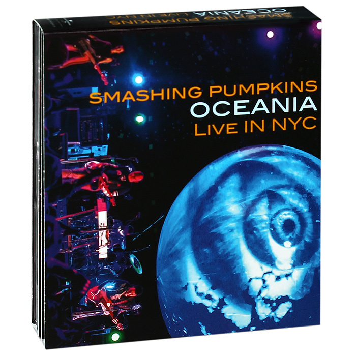 Smashing Pumpkins - Oceania: Live In NYC (DVD + 2 CD) dvd диск igor moisseiev ballet live in paris 1 dvd