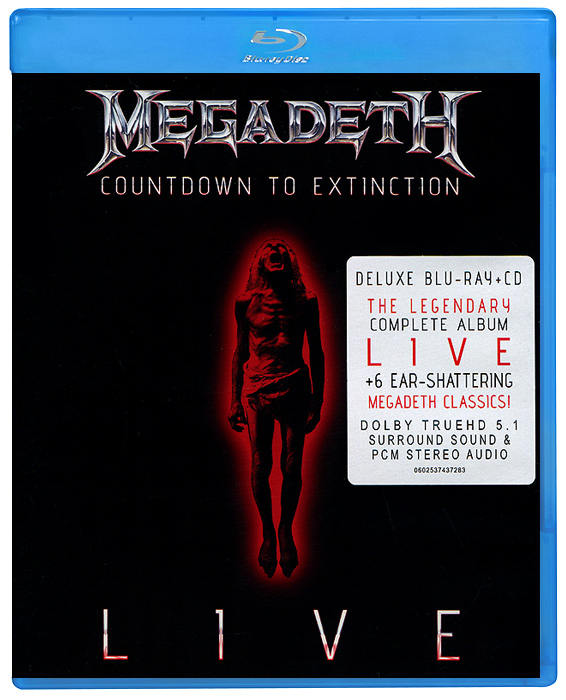 Megadeth: Countdown To Extinction - Live (Blu-ray + CD) 2pcs 14 37 inch led lcd universal tv backlight constant current board driver boost step up module 10 8 24v to 15 80v
