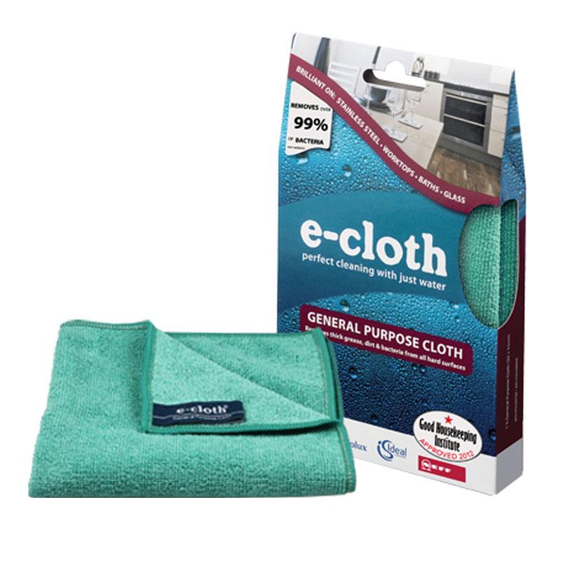 """Салфетка """"E-cloth"""" универсальная, 32 х 32 см 20230, в ассортименте"""