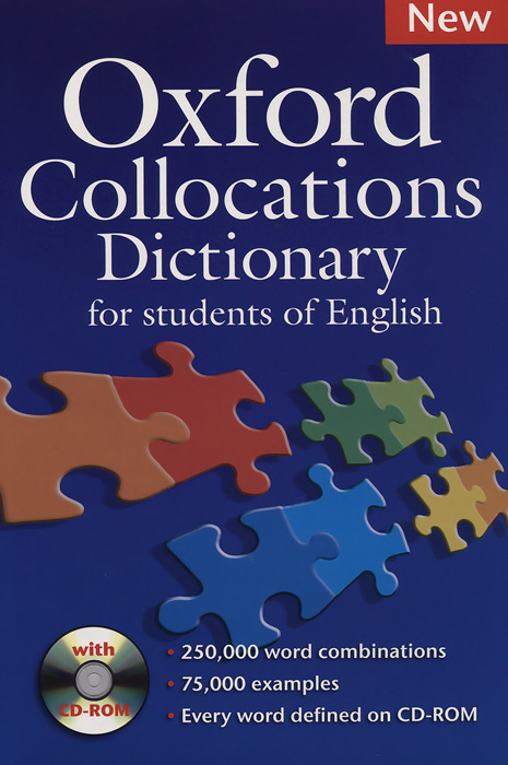 Oxford Collocations Dictionary (+ CD-ROM) cambridge learners dictionary english russian paperback with cd rom