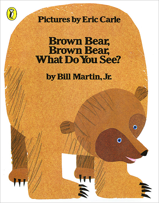 Brown Bear, Brown Bear, What Do You See? eric carle mister seahorse