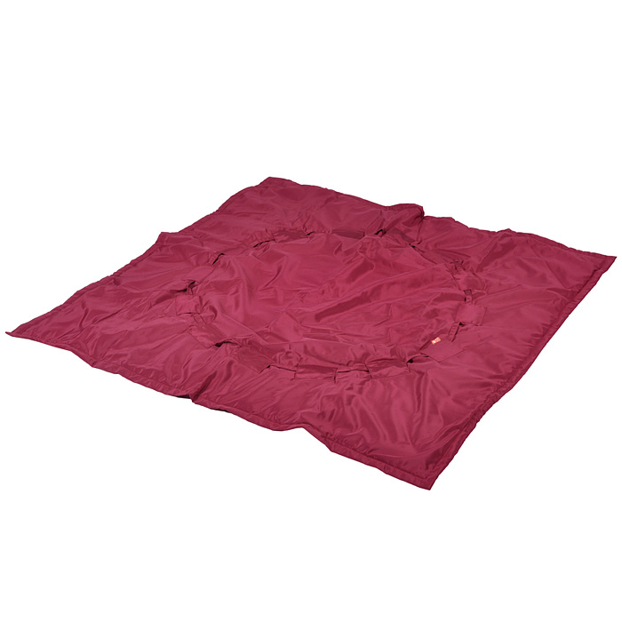 Переносной коврик-сумка  Чудо-Чадо , цвет: бордовый -  Сумки для мам