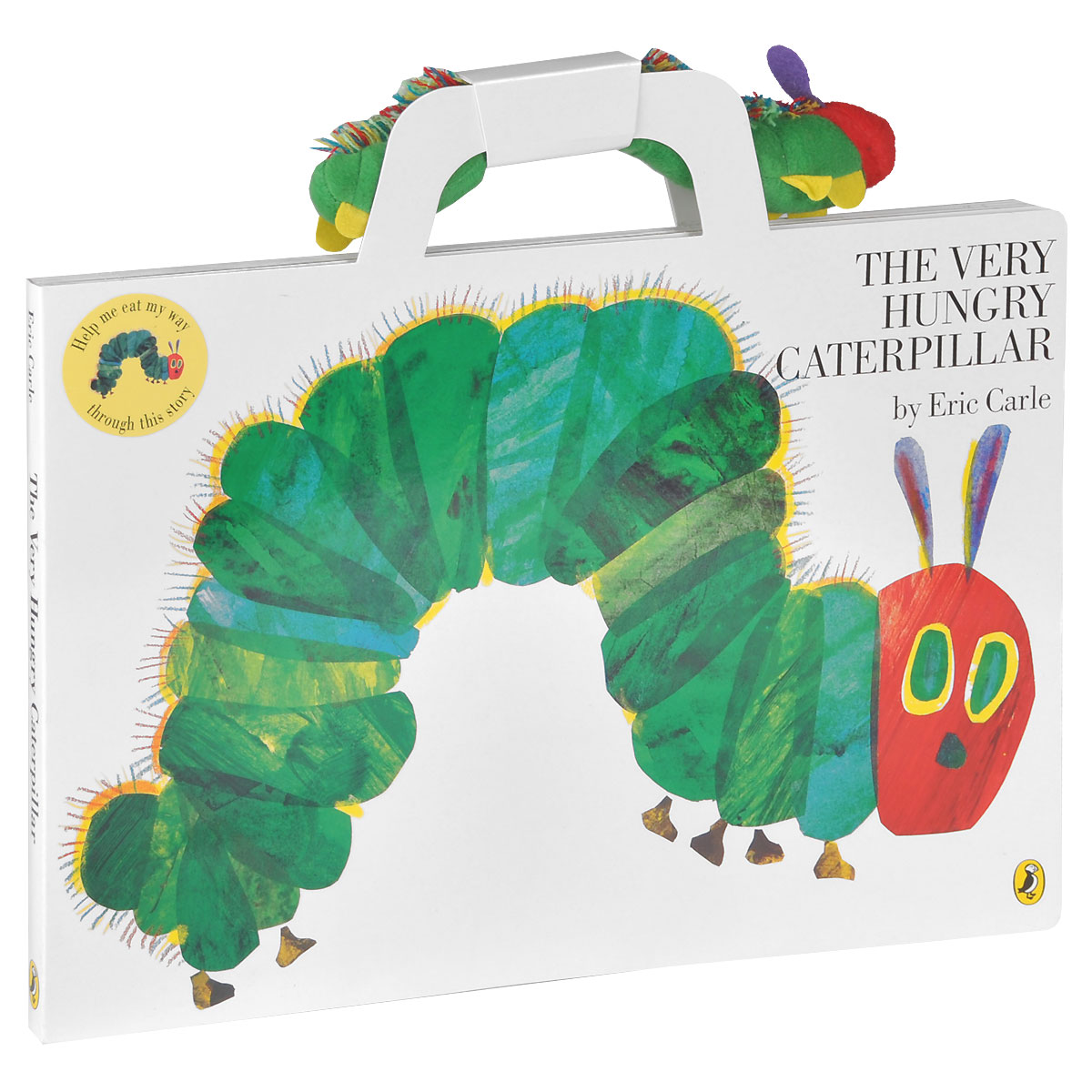 The Very Hungry Caterpillar (+ игрушка-гусеница)