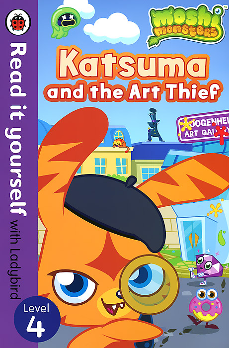 Moshi Monsters: Katsuma and the Art Thief: Level 4