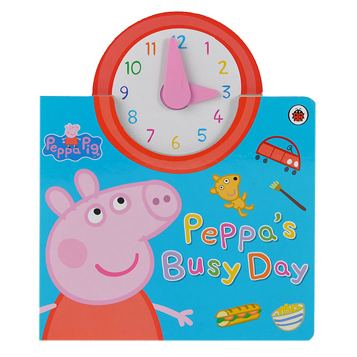 Peppa Pig: Peppa's Busy Day james patterson michael ledwidge tick tock