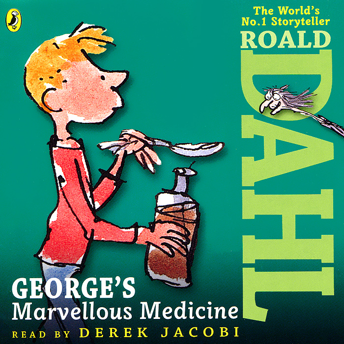George's Marvelous Medicine (аудиокнига на 2 CD)