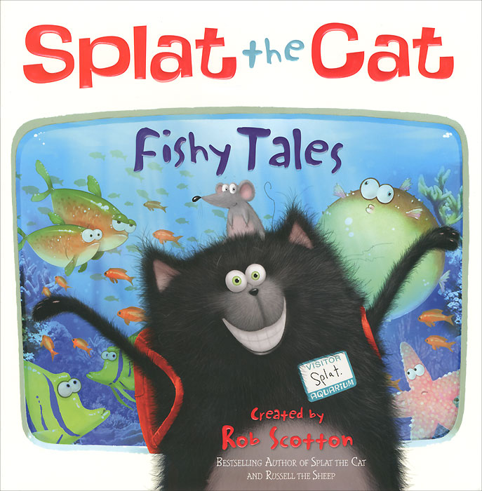 Splat the Cat: Fishy Tales! splat the cat doodle and draw