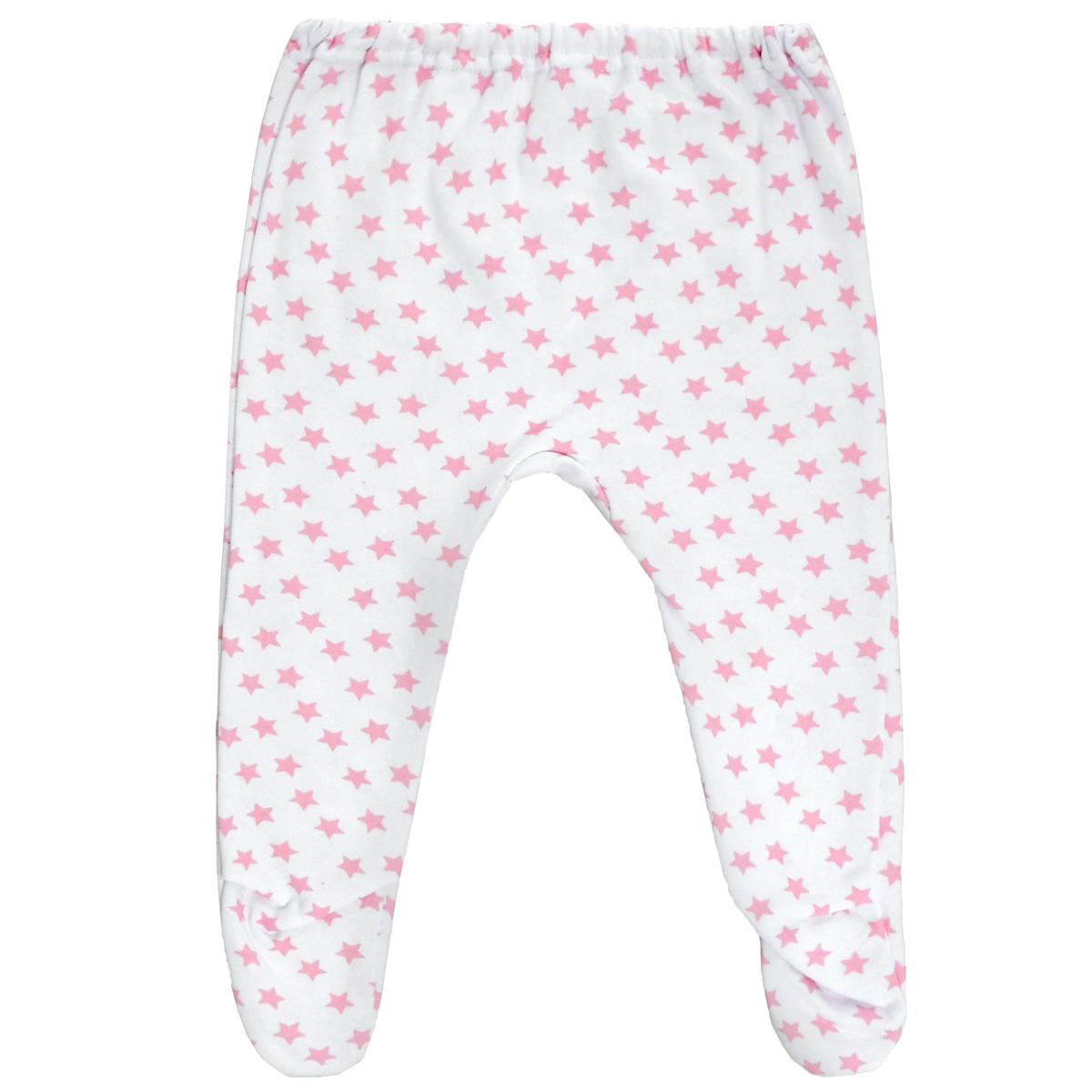 Ползунки Трон-Плюс, цвет: белый, розовый, рисунок звезды. 5256. Размер 80, 12 месяцев5256Ползунки для новорожденного Трон-Плюс послужат идеальным дополнением к гардеробу вашего ребенка, обеспечивая ему наибольший комфорт.Модель, изготовленная из футерованного полотна - натурального хлопка, необычайно мягкая и легкая, не раздражает нежную кожу ребенка и хорошо вентилируется, а эластичные швы приятны телу малыша и не препятствуют его движениям. Теплые ползунки с закрытыми ножками благодаря мягкому эластичному поясу не сдавливают животик младенца и не сползают, идеально подходят для ношения с подгузником. Они полностью соответствуют особенностям жизни ребенка в ранний период, не стесняя и не ограничивая его в движениях.