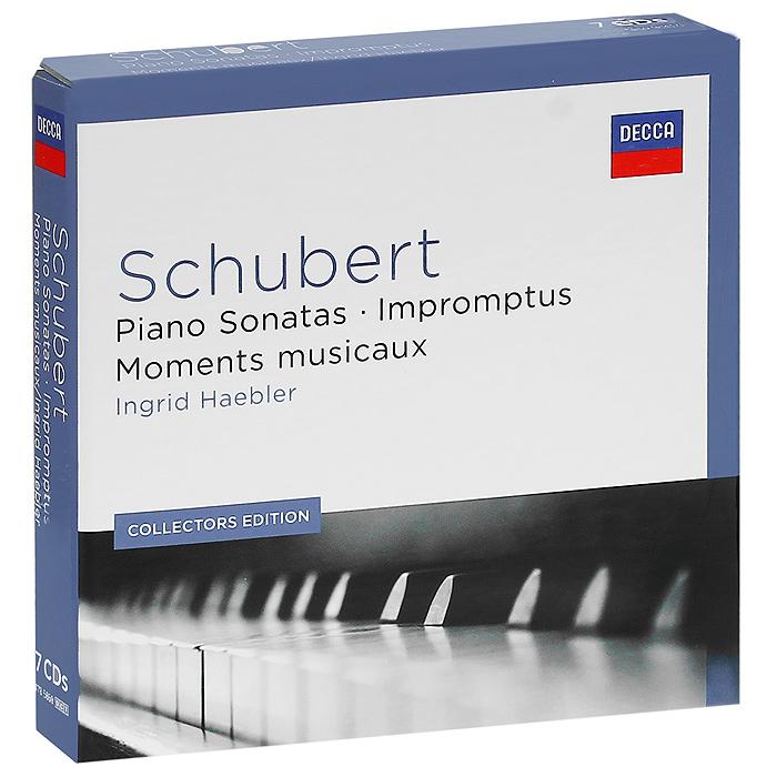 Ингрид Хэблер Ingrid Haebler. Schubert. The Piano Sonatas (7 CD) cd the piano guys uncharted