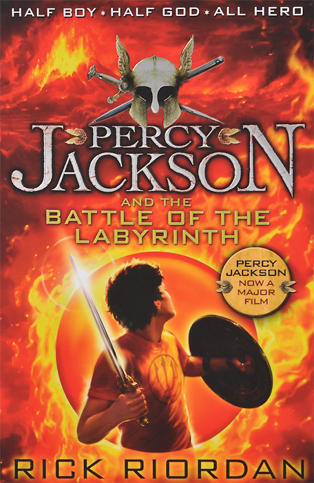 Percy Jackson and the Battle of the Labyrinth riordan r percy jackson and the sea of monsters