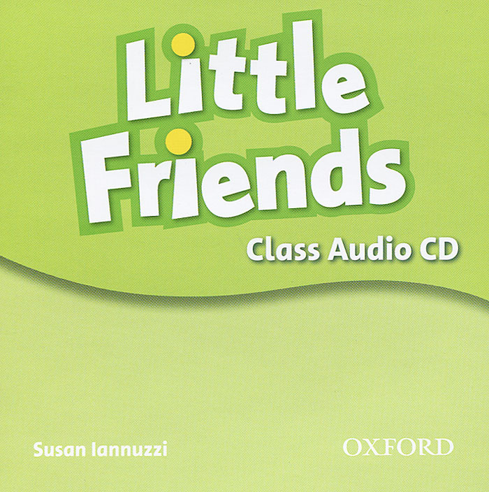 Little Friends (аудиокурс CD) little english я и мои друзья cd
