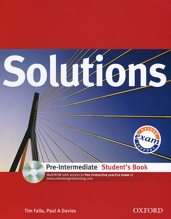 Solutions: Pre-Intermediate: Student's Book (+ CD-ROM) mackie g link intermediate wook book
