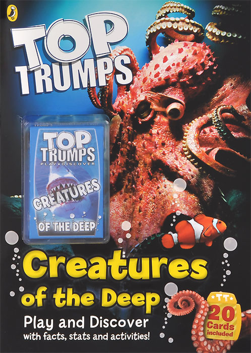 Top Trumps: Creatures of the Deep (+ набор из 20 карт)
