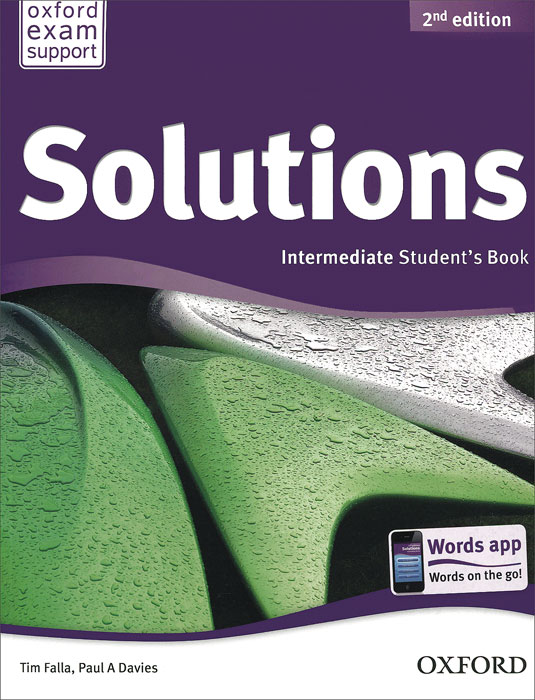 Solutions: Intermediate: Student Book год до школы от а до я тетрадь по подготовке к школе