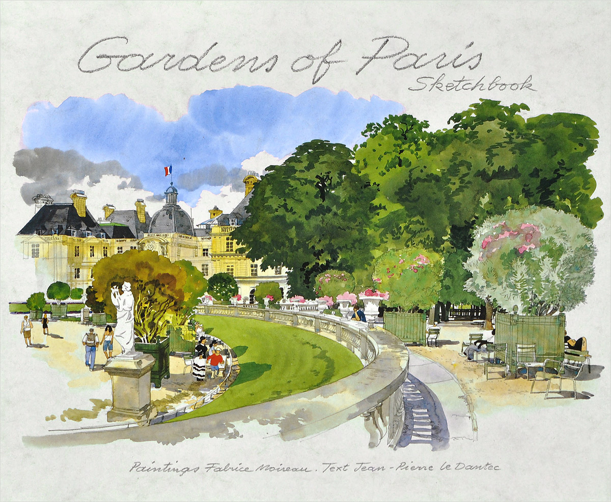 Gardens of Paris: Sketchbook samuel richardson clarissa or the history of a young lady vol 8
