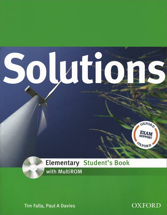 Solutions Elementary: Student's Book (+ CD) teaching teenagers