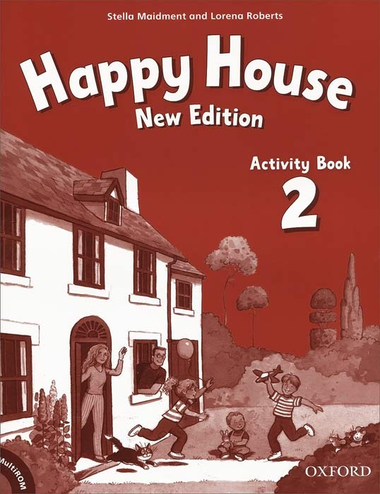 Happy House: Activity Book 2 (+ CD-ROM) merry team 6 activity book audio cd