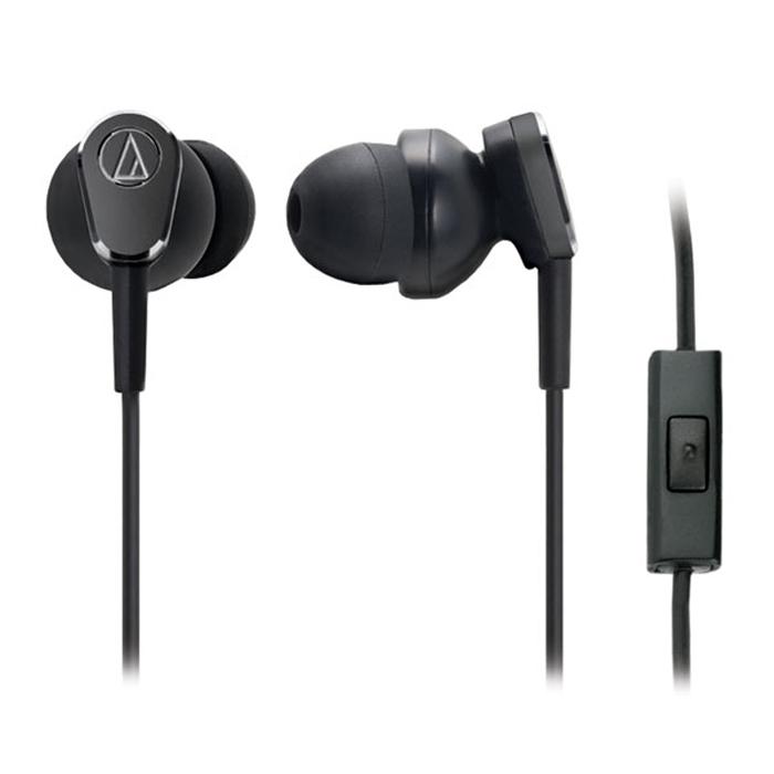 Audio-Technica ATH-ANC33iS наушники15116596Audio-Technica ATH-ANC33iS - универсальная гарнитура со вставными наушниками и системой активного шумоподавления. Электроника устройства, расположенная в пульте управления на шнуре, генерирует ответную звуковую вибрацию в противофазе к окружающему шуму. Эта вибрация действует как стиратель шума, не влияя при этом на звук из наушников. В результате Вы получаете тихий островок посреди океана шумов, где можно комфортно наслаждаться любимой музыкой, аудиокнигой или фильмом.
