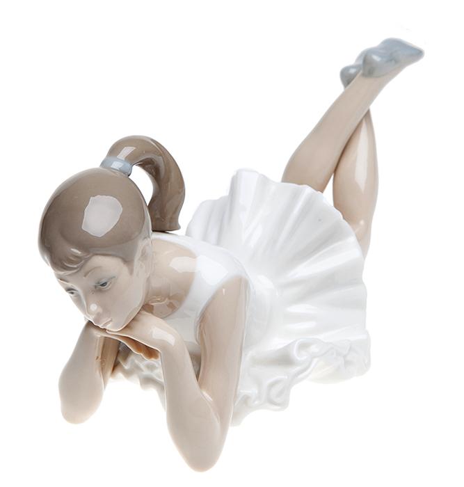 """Lladro! Статуэтка """"Балерина отдыхает"""". Фарфор, ручная роспись. Nao для Lladro, Испания (Валенсия), 1980-е гг."""