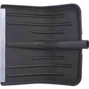Лопата для уборки снега, без черенка, 42 см х 42 см лопата для уборки снега поликарбонатная fit профи с алюминиевым черенком 46 см х 42 см