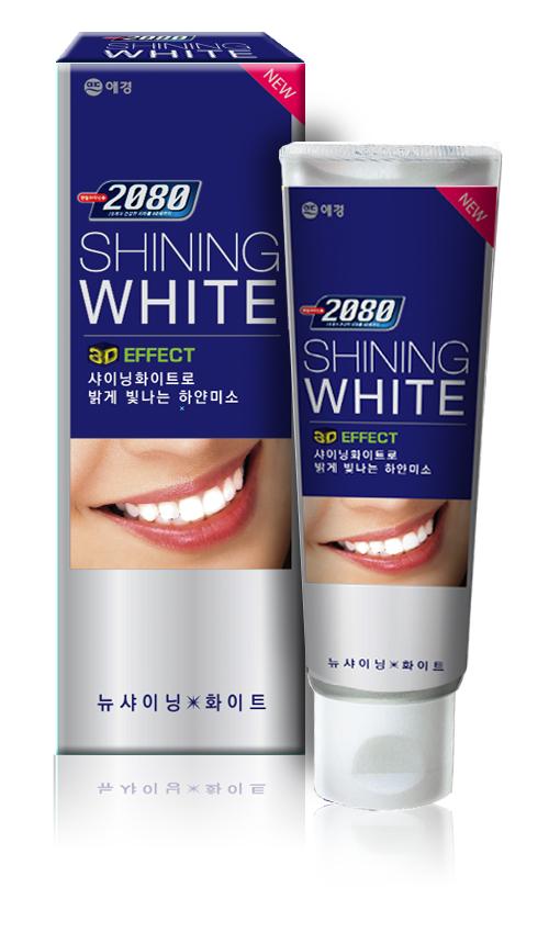 """Зубная паста 2080 """"Сияющая белизна"""", отбеливающая, 100 г"""