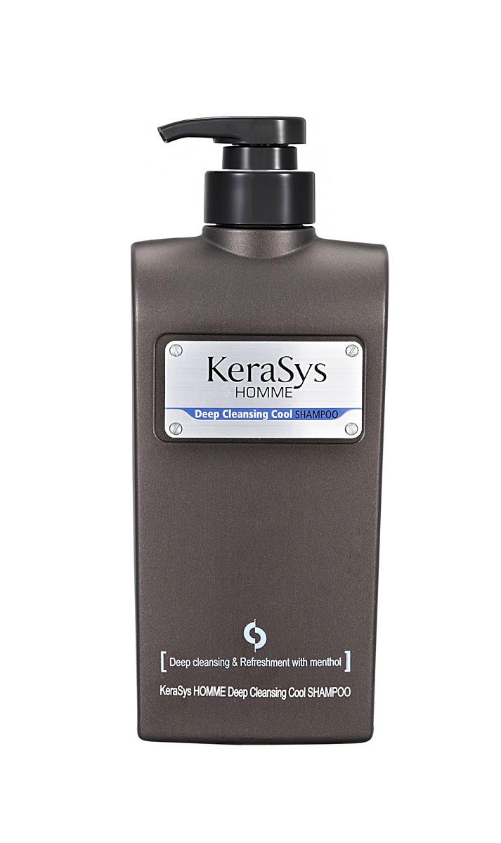 Шампунь KeraSys для волос, освежающий, для мужчин, 550 мл877388Освежающий шампунь KeraSys предназначен для мужчин.Очищение: эффективно удаляет с волос пыль городских улиц, пот, неприятный запах. Охлаждающий эффект: натуральный экстракт мяты дарит приятное чувство прохлады, заряжает энергией. Основа для укладки: отличная основа для стайлинга. Объем: 550 мл.Артикул: 7388.