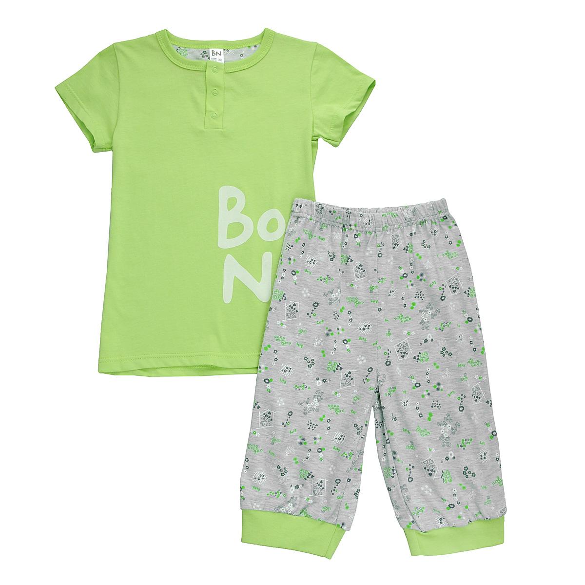 Фото - Пижама для девочки Bossa Nova, цвет: светло-зеленый, серый. 387Б-161. Размер 122/128, 7-8 лет пижамы и ночные сорочки bossa nova пижама джемпер и брюки для девочки супергерои 356б 161