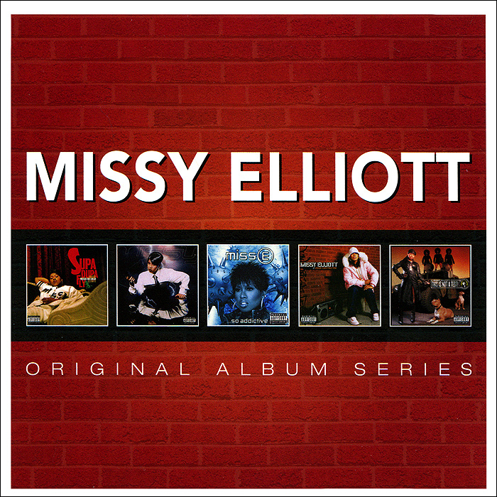 Missy Elliott.  Original Album Series (5 CD) Rhino Entertainment Company,Торговая Фирма