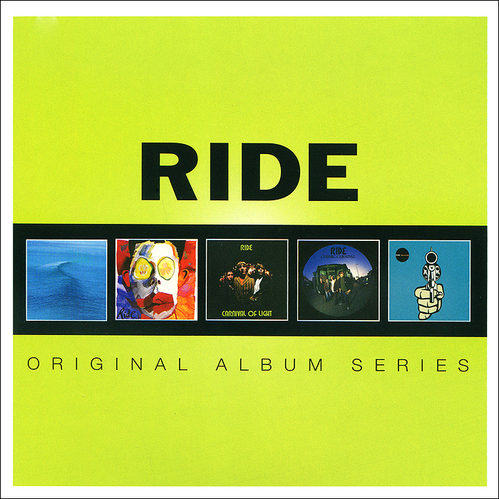 Ride Ride. Original Album Series (5 CD) цена