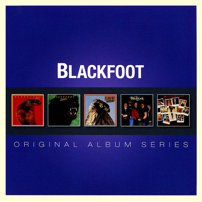 Blackfoot. Original Album Series (5 CD)