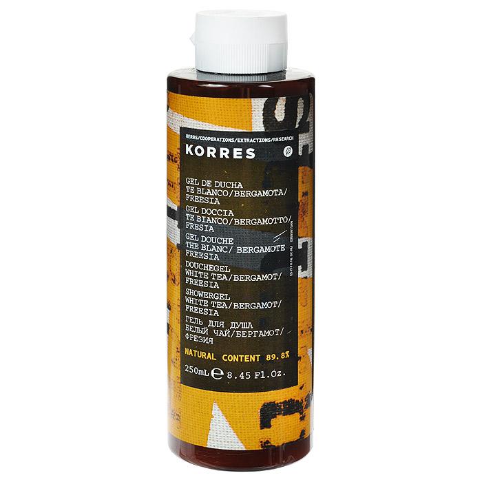 Korres Гель для душа Белый чай, 250 мл520306904188489, 8% натуральных ингредиентов. Ароматический и увлажняющий гель для душа, идеально подходит для ежедневного использования. Превращаясь в кремовую пену, он обеспечивает интенсивный смягчающий и увлажняющий эффект, сохраняющийся надолго. Протеины пшеницы образуют защитную пленку на поверхности кожи, обеспечивая длительное увлажнение. Гель обладает красивым нежным ароматом белого чая. Для продления аромата, используйте вместе с Молочком для тела.* Активный экстракт алоэ - увлажнение, антиоксидант, поддерживает кожный иммунитет * Протеины пшеницы - образуют защитную пленку на коже * Протеины овса - образуют защитную пленку на кожеНаносите на влажную кожу при принятии душа или ванны.