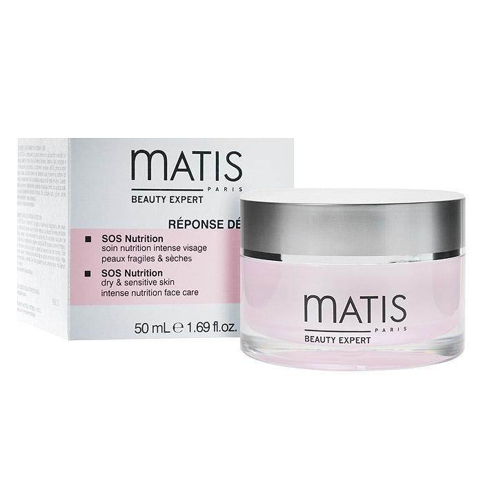 Matis Крем SOS для лица, питательный, для чувствительной кожи, 50 мл36378Питательный крем - экстренная помощь для чувствительной или очень сухой кожи. Потрясающе нежная мягкая кремовая текстура. Удивительно комфортный крем восстанавливает, смягчает, защищает и, прежде всего, возвращает коже необходимый баланс. Для достижения абсолютного комфорта, коже, прежде всего, необходимо хорошее увлажнение и питание. Как только все необходимые жизненные функции кожи придут в норму, улучшится межклеточный обмен, кожа сама сможет лучше противостоять любым раздражающим факторам.Масло дикого манго, Масло карите, Масло иллипе, Виноградная лоза KUDZU, Лакричник, Экстракт водяного кресса, Церамиды.Наносить ежедневно утром и/или вечером или в зависимости от потребностей кожи, когда чувствуете дискомфорт.