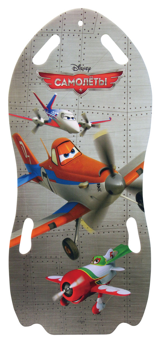 Ледянка для двоих Disney Самолеты, длина 122 см ледянка disney фея до 60 кг пвх ткань рисунок т58165