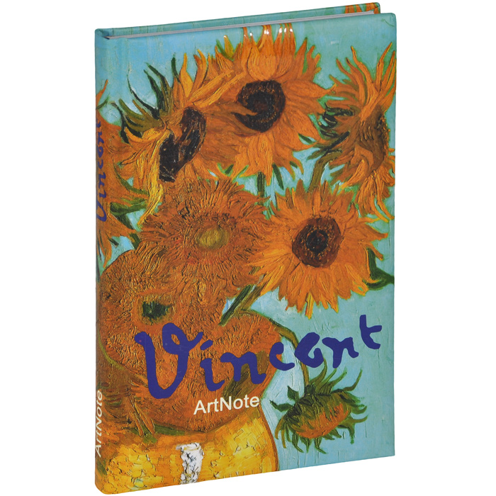 Ван Гог. ArtNote. Подсолнухи блокнот в пластиковой обложке ван гог цветущие ветки миндаля формат малый 64 страницы арте