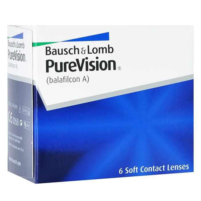 Bausch + Lomb контактные линзы PureVision (6шт / 8.3 / -0.75)