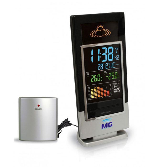 Meteo Guide MG 01307 многофункциональная погодная станция1307Погодня станция Meteo Guide MG 01307 позволит узнать не только время, но и погоду за окном, а также температурный режим воздуха.