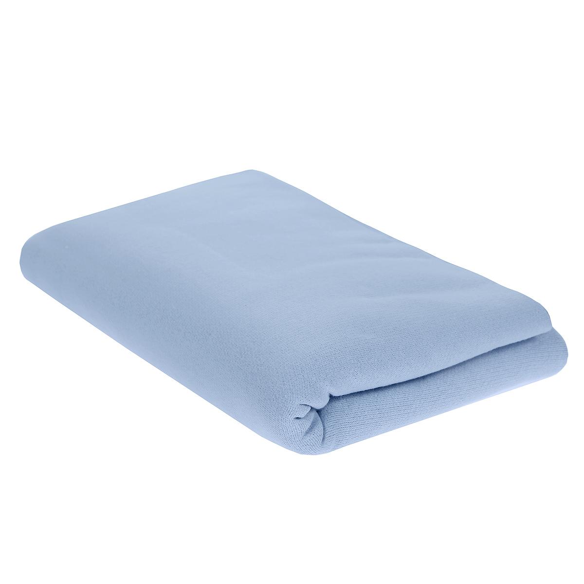 Трон-Плюс Пеленка детская цвет голубой 120 см х 90 см5411 гДетская пеленка Трон-Плюс подходит для пеленания ребенка с самого рождения. Она невероятно мягкая и нежная на ощупь. Пеленка выполнена из футера - хлопчатобумажной ткани с небольшим начесом с изнаночной стороны. Такая ткань прекрасно дышит, она гипоаллергенна, обладает повышенными теплоизоляционными свойствами и не теряет формы после стирки. Мягкая ткань укутывает малыша с необычайной нежностью. Пеленку также можно использовать как легкое одеяло в теплую погоду, простынку, полотенце после купания, накидку для кормления грудью или как согревающий компресс при коликах. Ее размер подходит для пеленания даже крупного малыша. Характеристики: Размер пеленки: 120 см x 90 см.