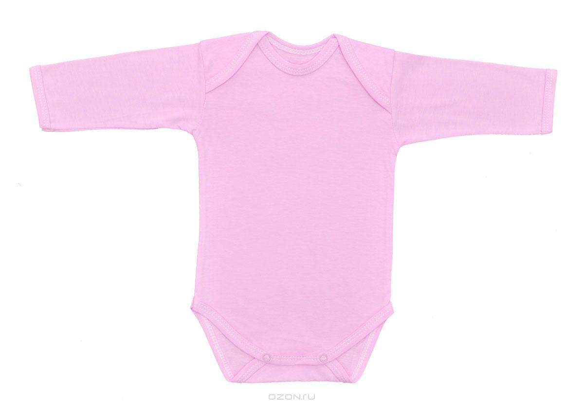 Боди детское Трон-Плюс, цвет: розовый. 5861. Размер 62, 3 месяца5861Детское боди Трон-плюс с длинными рукавами послужит идеальным дополнением к гардеробу вашего ребенка, обеспечивая ему наибольший комфорт. Боди изготовлено из кулирного полотна -натурального хлопка, благодаря чему оно необычайно мягкое и легкое, не раздражает нежную кожу ребенка и хорошо вентилируется, а эластичные швы приятны телу младенца и не препятствуют его движениям. Удобные запахи на плечах и кнопки на ластовице помогают легко переодеть младенца или сменить подгузник. Боди полностью соответствует особенностям жизни ребенка в ранний период, не стесняя и не ограничивая его в движениях. В нем ваш ребенок всегда будет в центре внимания.