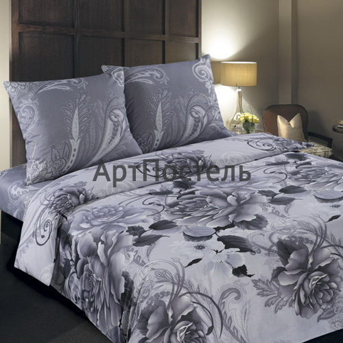Комплект белья Арт Постель Шанель (2-х спальный КПБ, поплин, наволочки 70х70) комплект белья арт постель на гребне волны 2 спальный наволочки 70х70 50х70