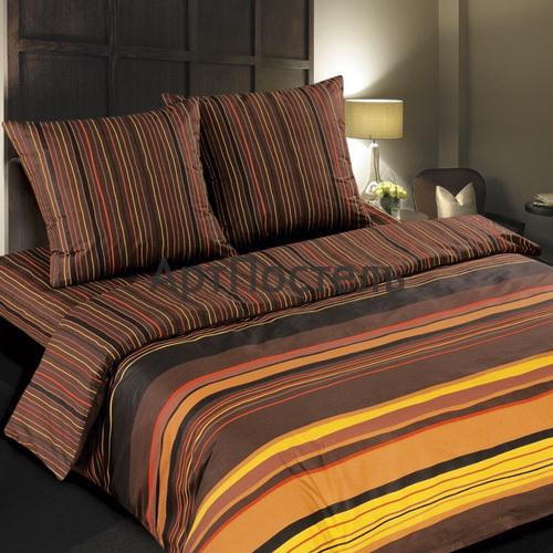 Постельное белье Арт Постель Шоколад (2-х спальный КПБ, поплин, наволочки 70х70) комплект белья арт постель на гребне волны 2 спальный наволочки 70х70 50х70