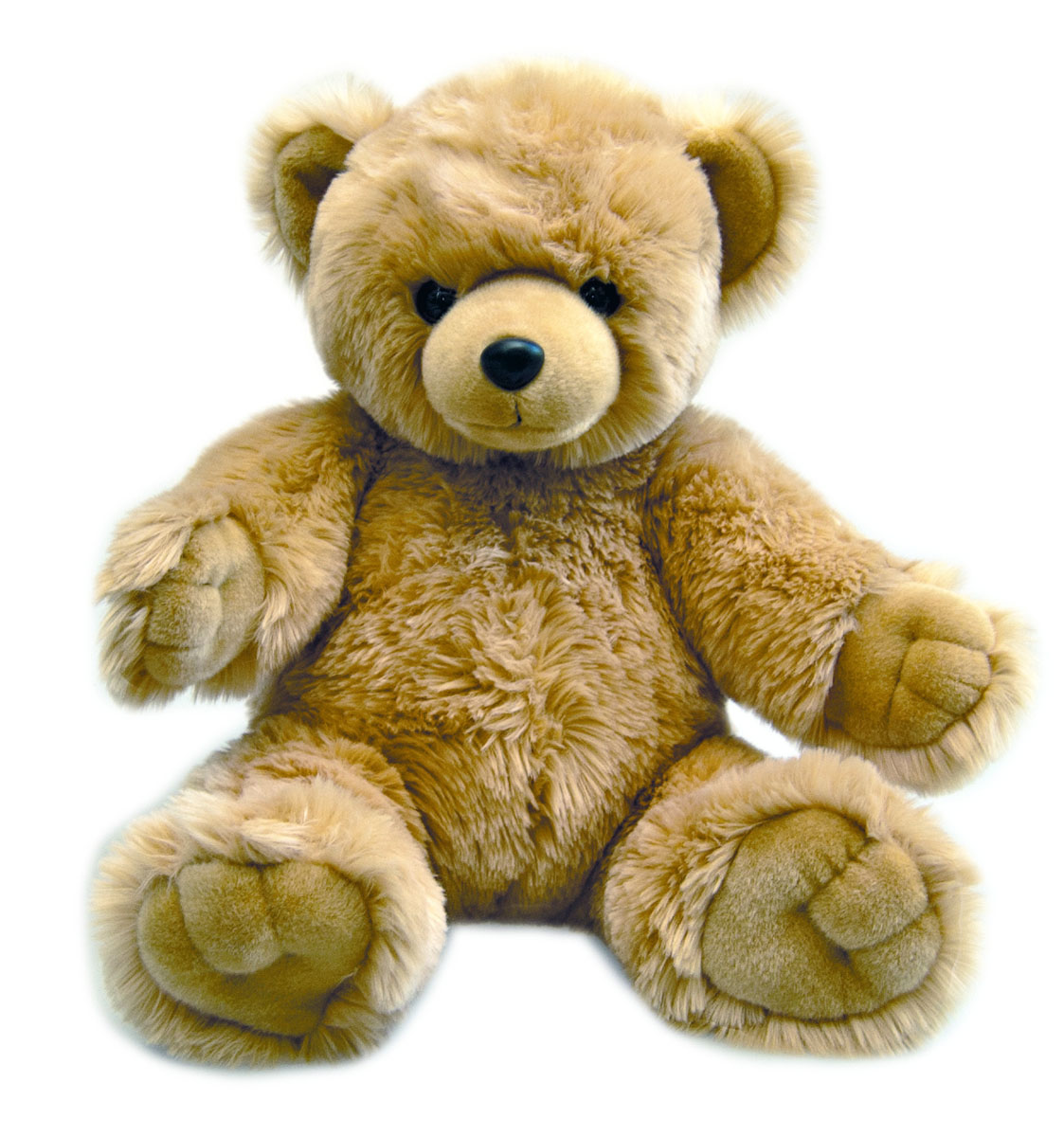 Мягкая игрушка Aurora Медведь. Обними меня, цвет: коричневый, 72 см малышарики мягкая игрушка собака бассет хаунд 23 см