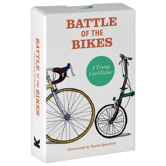 Battle of the Bikes: A Trump Card Game valery zimin 20 myths how russians drink their vodka to proof or decline