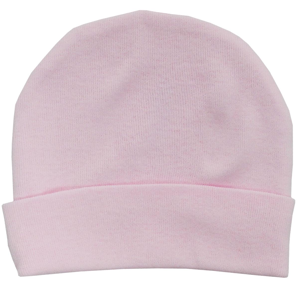 Шапочка унисекс Трон-Плюс, цвет: розовый. 6312. Размер 62, 3 месяца