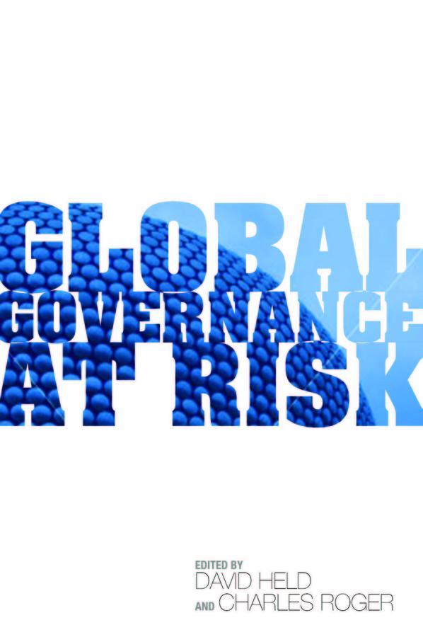 Global Governance at Risk  global governance at risk